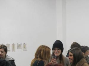 Rachael, Kirsty & Rhona at the opening of their exhibition 'Crit'. Click on the image for more info!