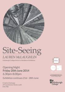 Lauren McLaughlin Exhibition Poster