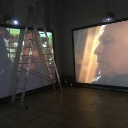 Multi screen video install