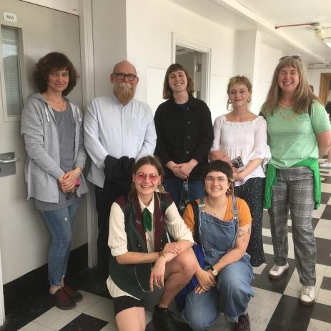 Elena, Alan, Jek,Dulcie, Colette, Cloud and Freya
