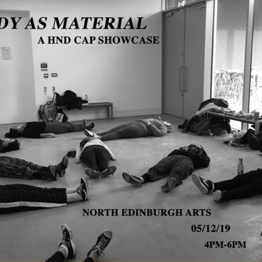 Body As Material @ North Edinburgh Arts