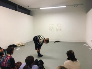 Body As Material Workshop 2 at ESW